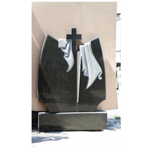 Готовый гранитный памятник №198
