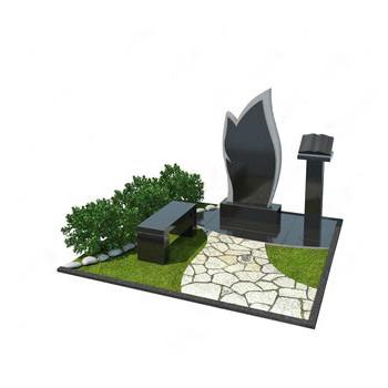 Мемориальный комплекс из гранита AM4655