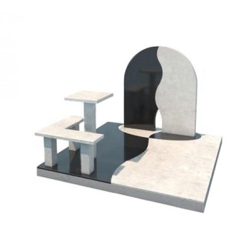 Мемориальный комплекс из гранита AM4664