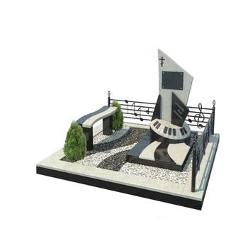 Мемориальный комплекс из гранита AM4668