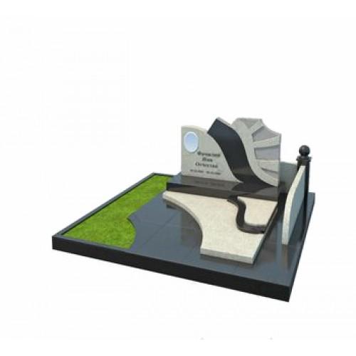 Мемориальный комплекс из гранита AM4677
