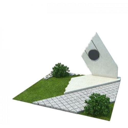 Мемориальный комплекс из гранита AM4869