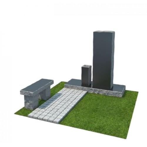 Мемориальный комплекс из гранита AM4878