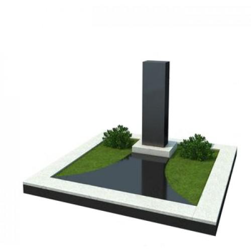 Мемориальный комплекс из гранита AM4923