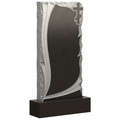 Вертикальный памятник из гранита AM1809