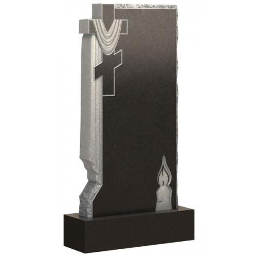 Вертикальный памятник из гранита AM1784