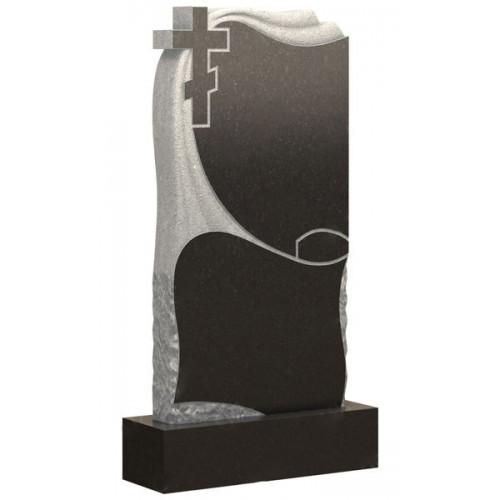 Вертикальный памятник из гранита AM1763