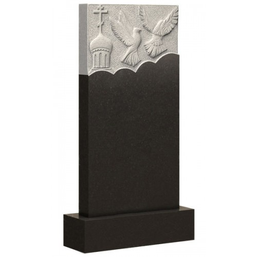 Вертикальный памятник из гранита AM1890